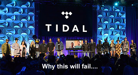 why Jay-Z's Tidal will fail